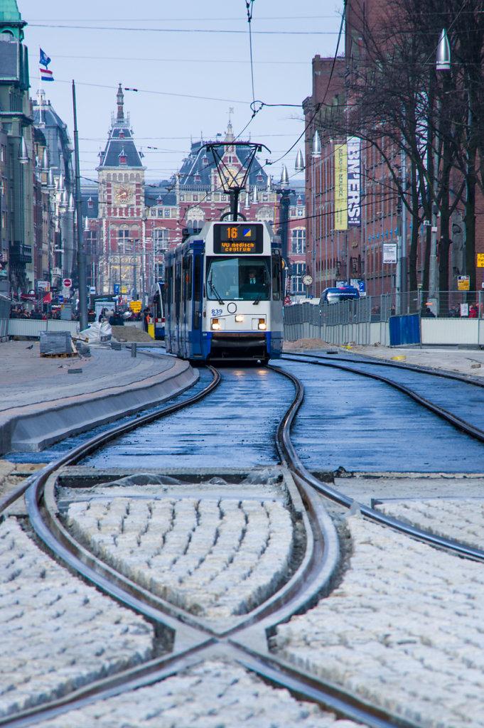 Amsterdam tram