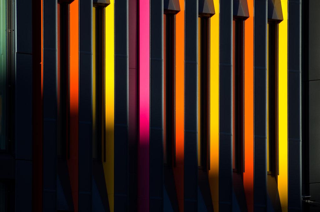 Colourful Stockholm Facade