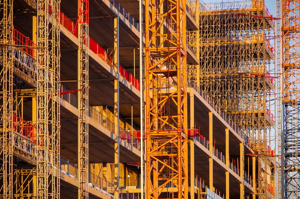 New Karolinska hospital, Stockholm under construction