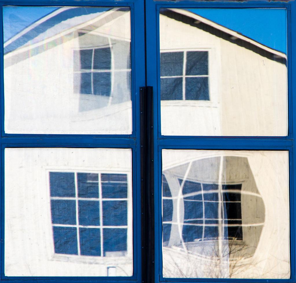 Windows in Vaxholm