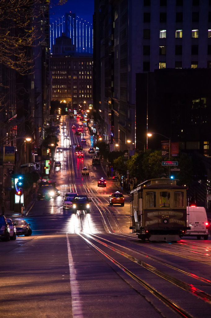 Early morning in San Francisco