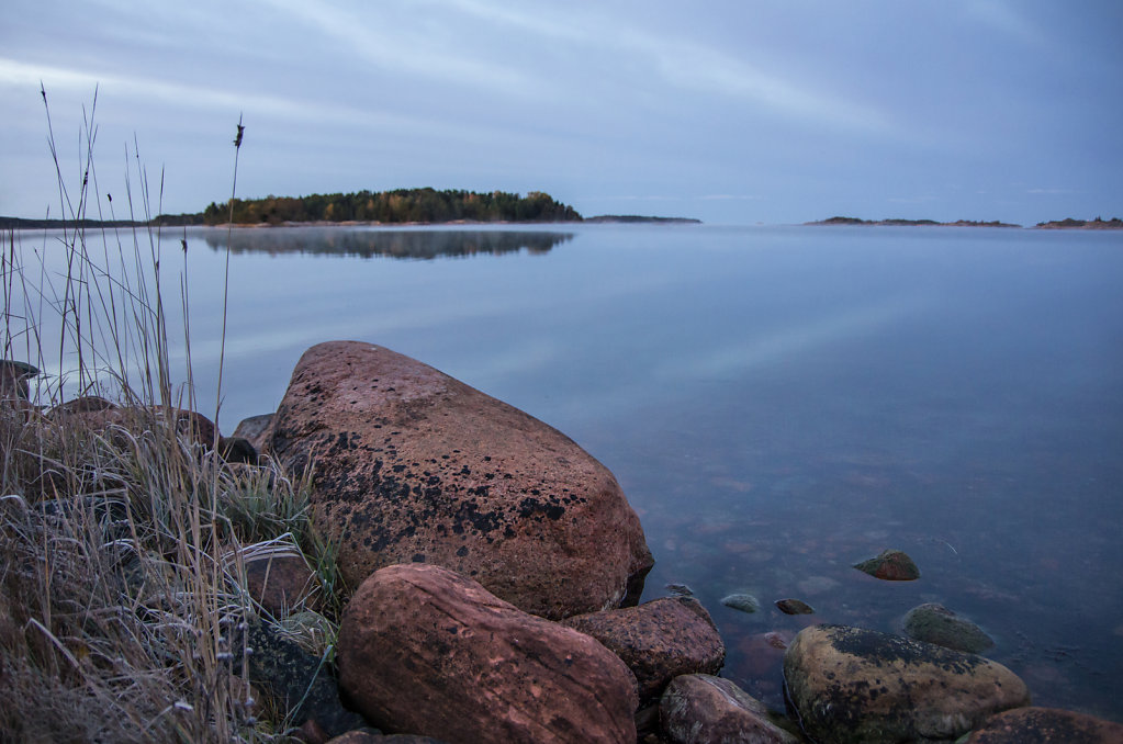 Åland at dawn
