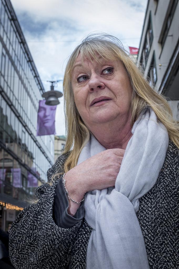 Portrait at Drottninggatan