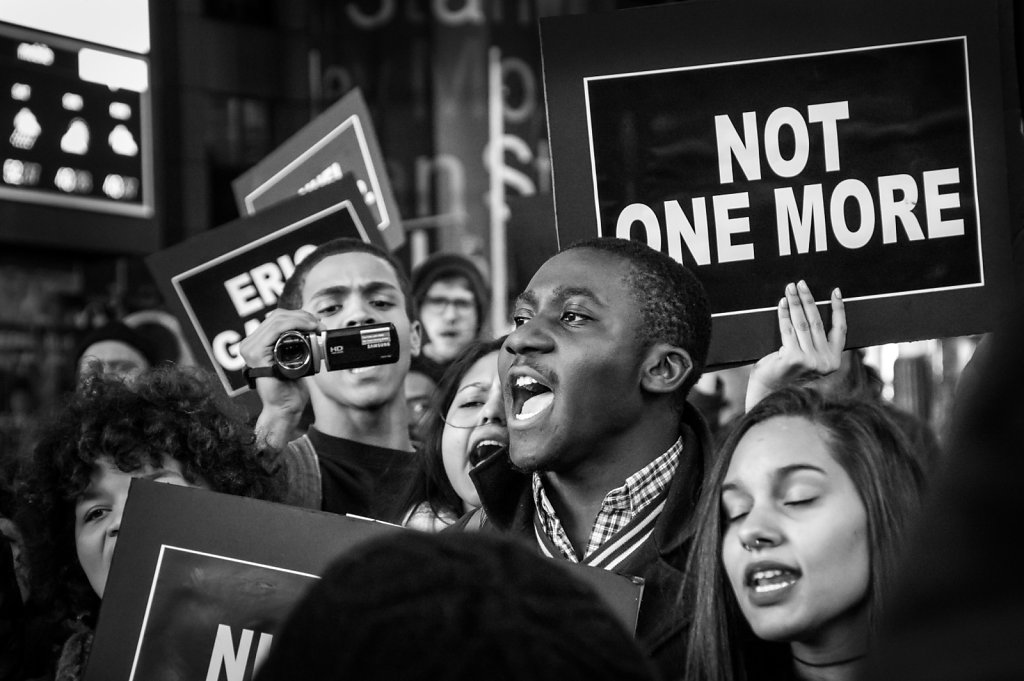 2014 NY Protests against police violence