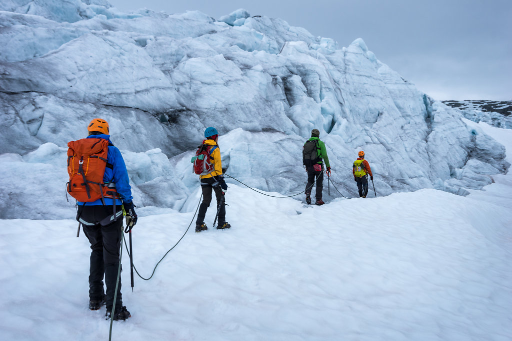2015 Glacier training in Norway