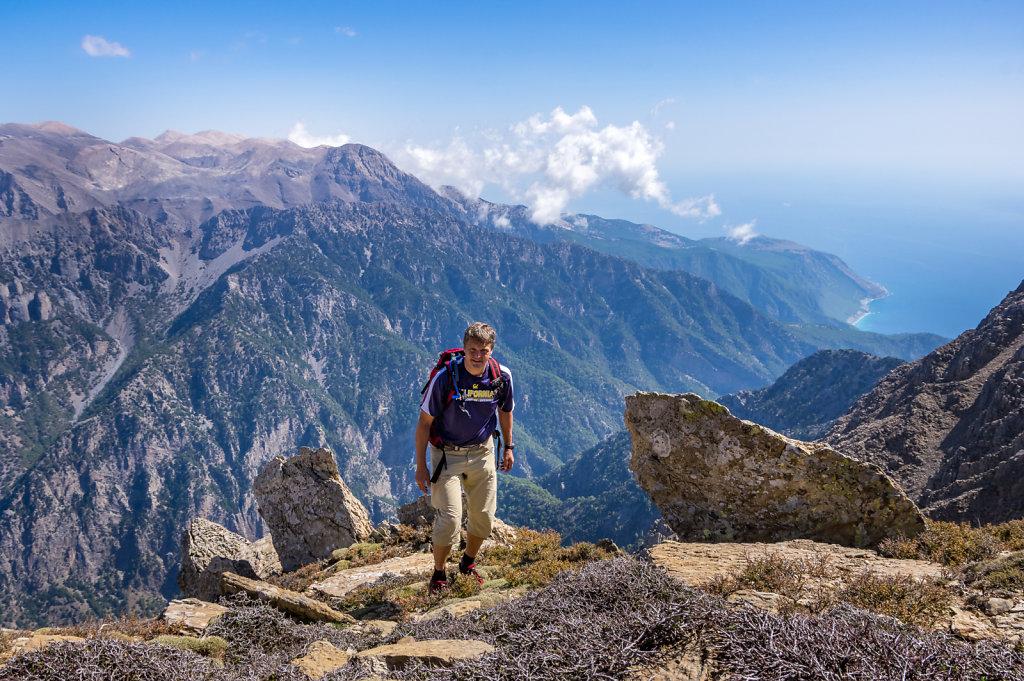 Mt Volakis, högt över Samaria