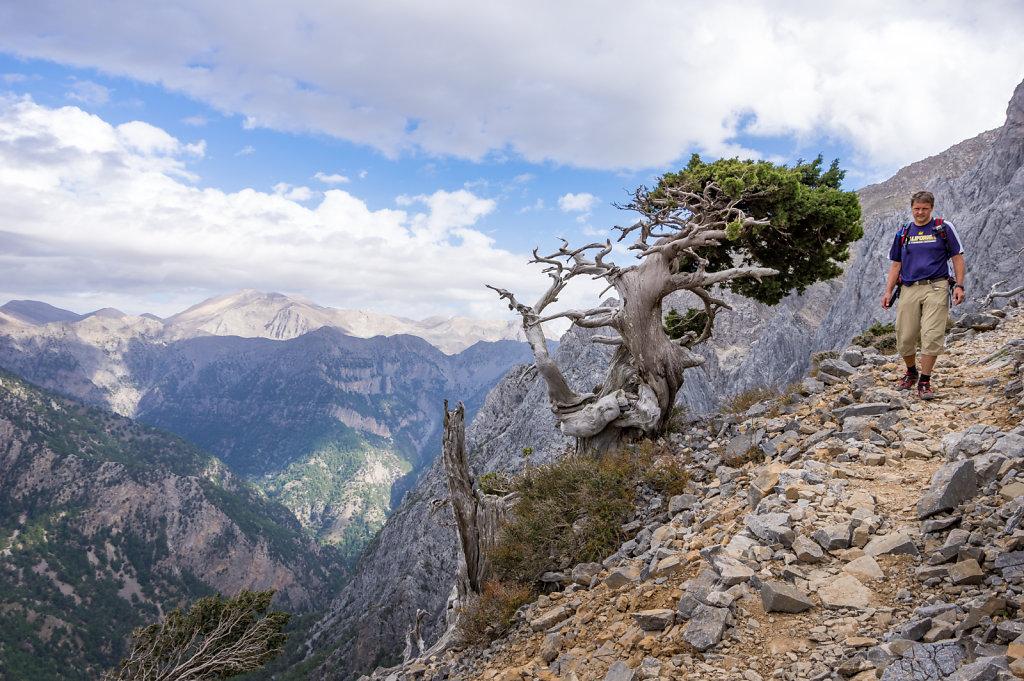 Retur från Mt Gigilos