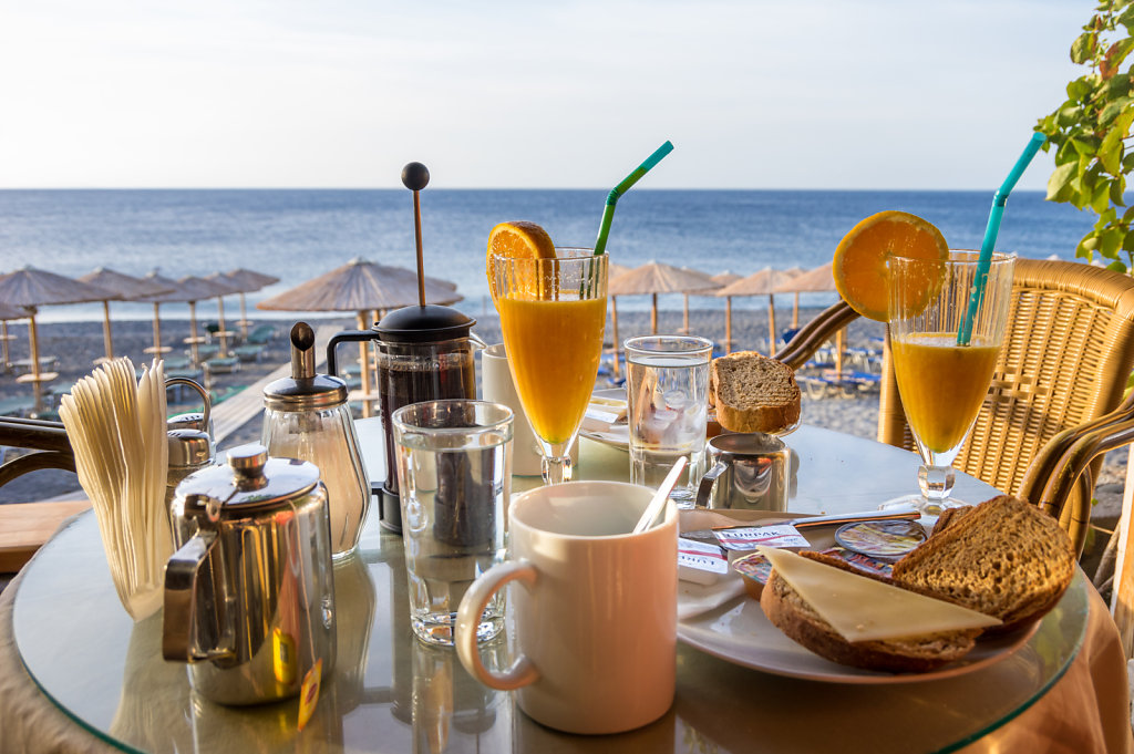 Frukost i Sougia