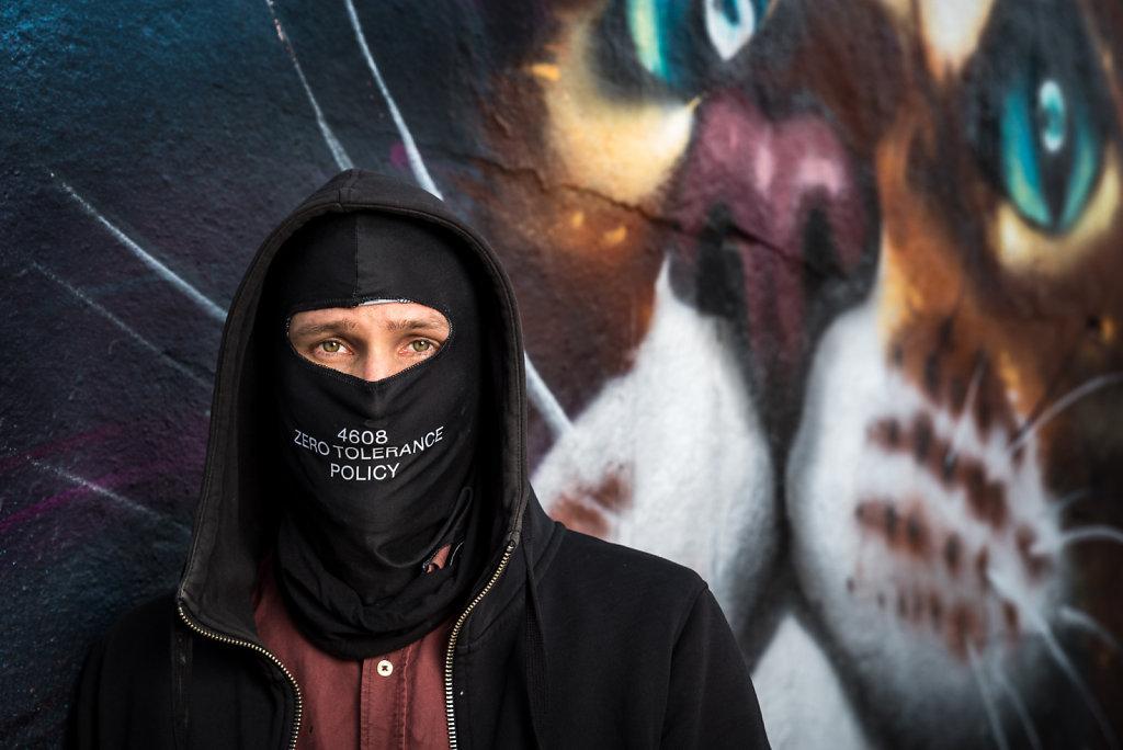 Graffitikonstnärer - Se mig / Graffiti artists - See me